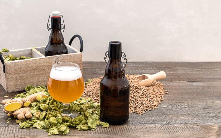 growler e cerveja